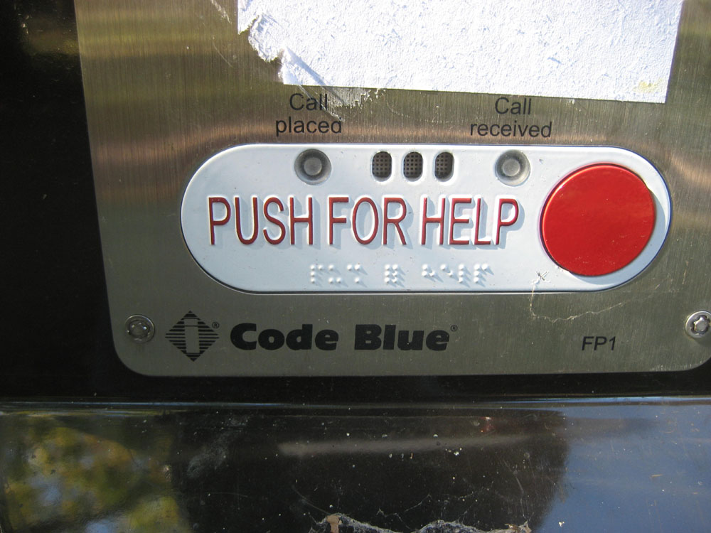 Code Blue Button i Think a Code Blue Refers
